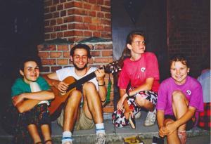1993, III PP, Jaśkowice, pogodny wieczór